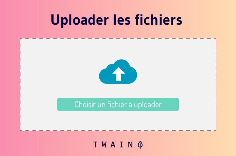 Uploader les fichiers