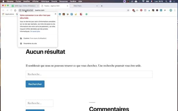 Securiser les sites web