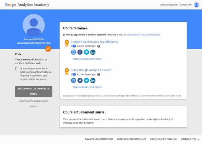 Profil GA Academy