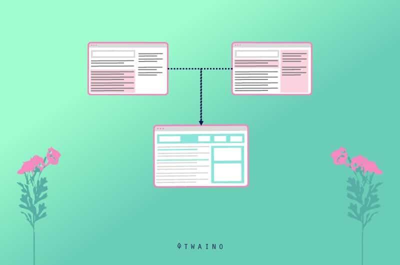 Consolider les pages web de vos produits