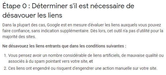 Google est capable d evaluer la qualite des liens
