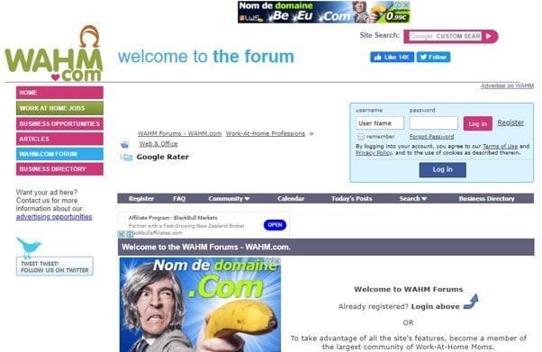 Wahm Forum