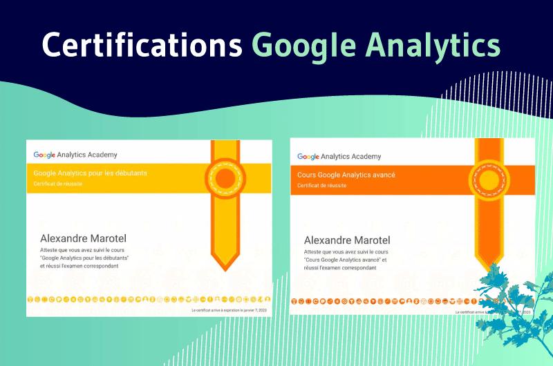Certifications GA