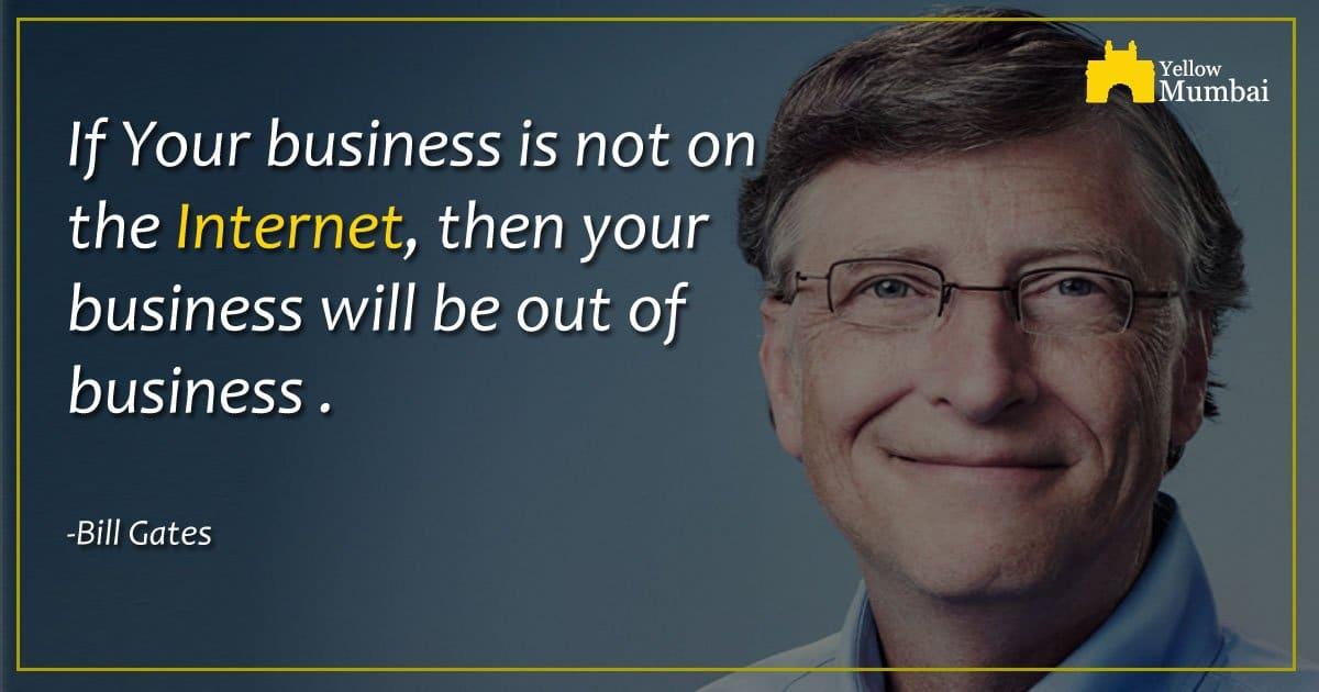 Tout business doit avoir une presence en ligne