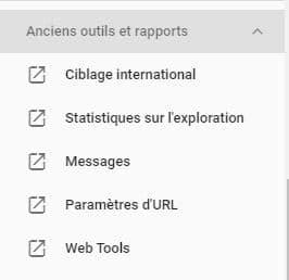 Configurer pays cibles avec Google search Console 1
