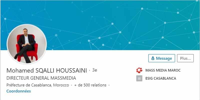Profil LinkedIn Mohamed S H