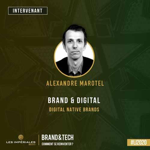 Intervant a Les Imperiales 2020 Alexandre Marotel