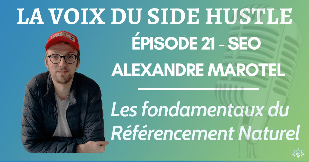 Participation a la voix du Side Hustle de Dimitri CARLET