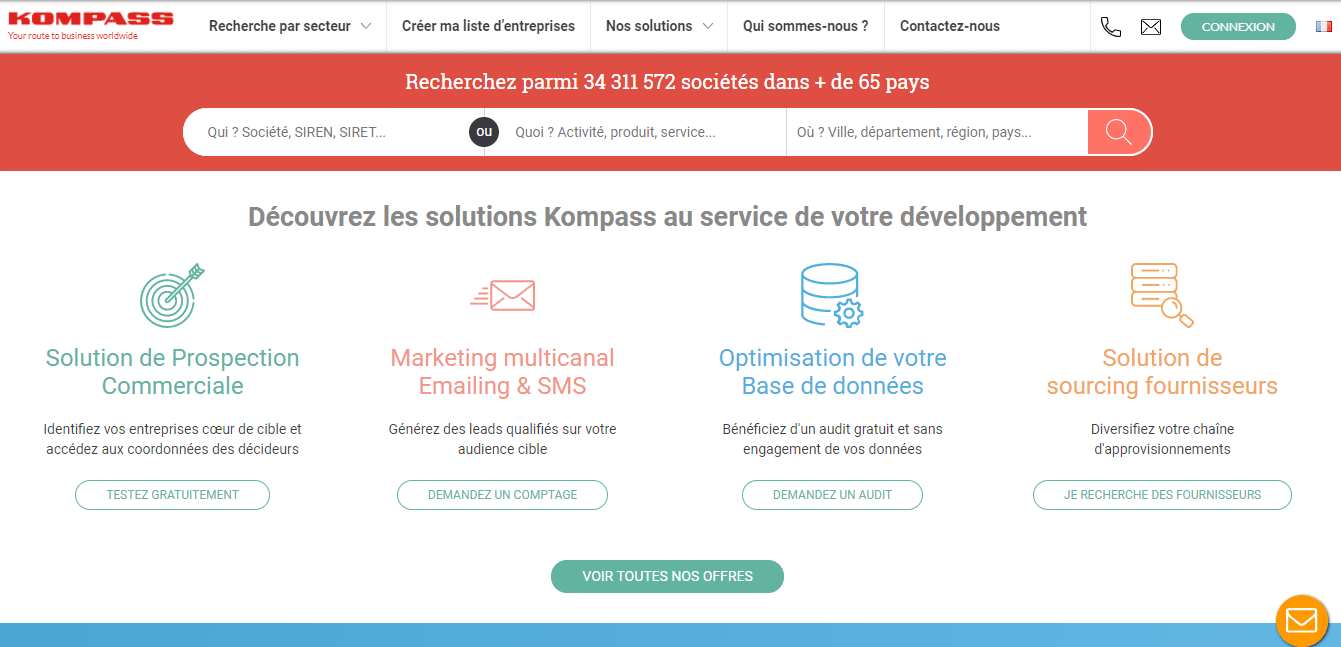 kompass local SEO