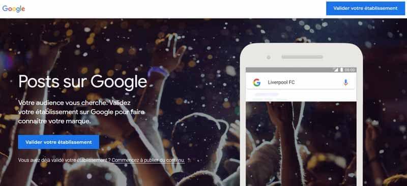 google posts local SEO