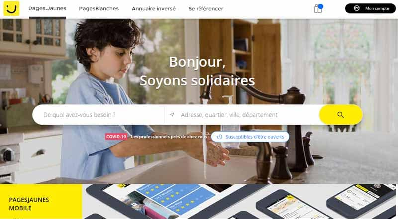 annuaire local pagesjaunes local SEO