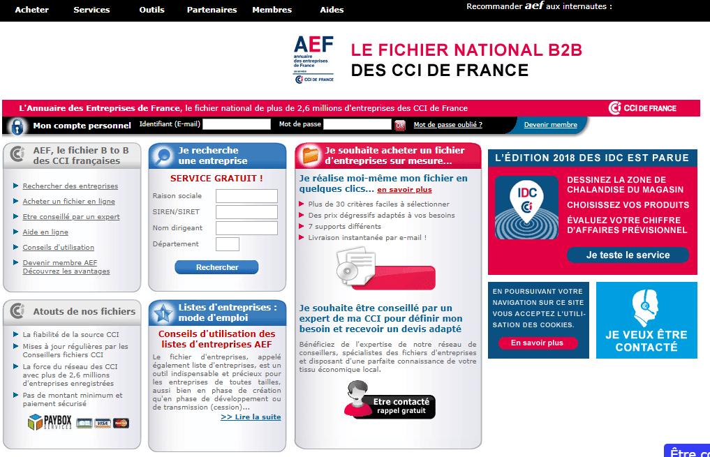 annuaire des entreprises de France local SEO