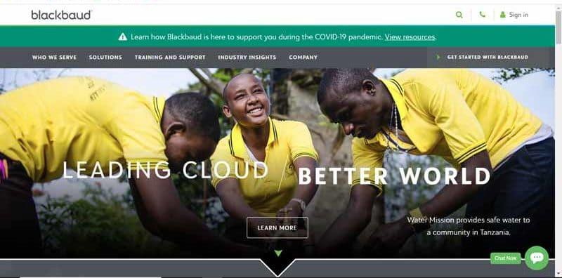 Blackbaud fournisseur de cloud computing au service des communautes sociales