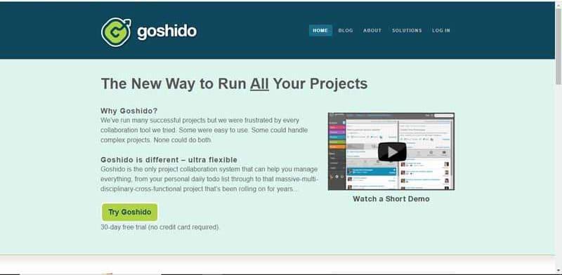 plateforme de co working Goshido