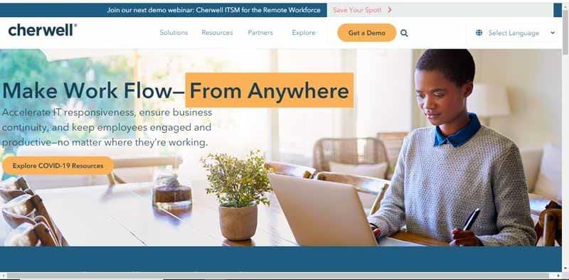 Cherwell Software compagnie specialisee dans la gestion des services informatiques