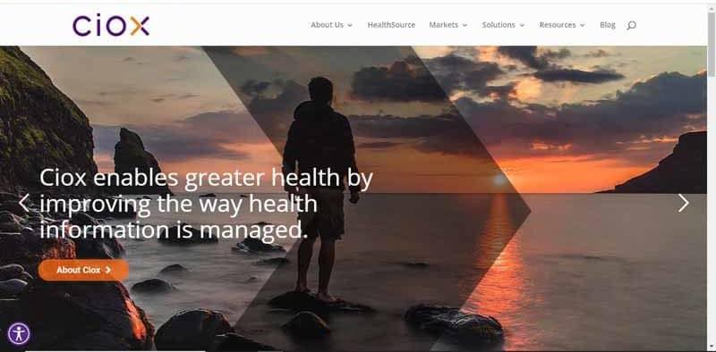 Ciox Health societe americaine de gestion de l information sanitaire