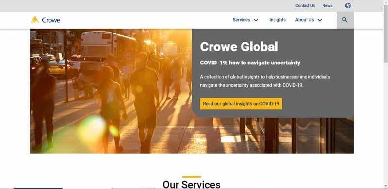 reseau multinational comptable Crowe Horwath