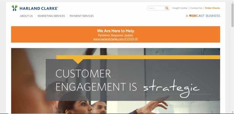 entreprise Harland Clarke leader en fournitures de solutions de paiement et de services marketing integres