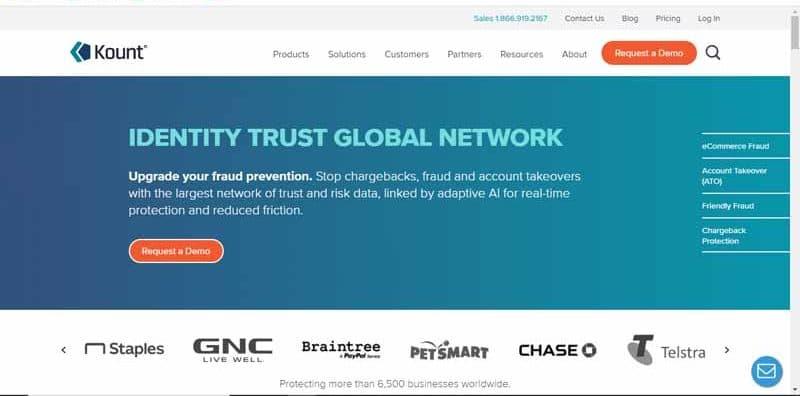 Kount fournisseur de technologies antifraude