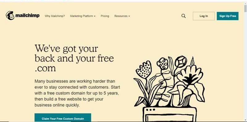 Mailchimp plateforme d automatisation du marketing et service d email marketing