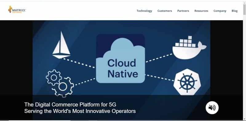 MATRIXX Software une plateforme de commerce electronique