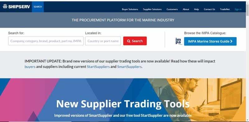 industrie maritime Shipserv ayant du succes avec les reseaux sociaux