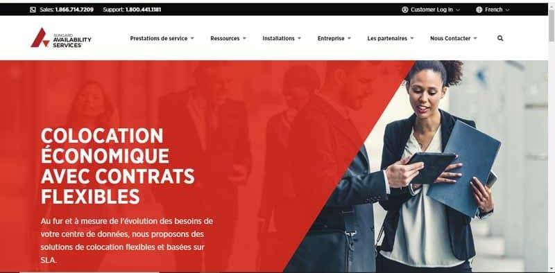 entreprise SunGard specialisee dans les solutions informatiques dematerialisees pour les entreprises