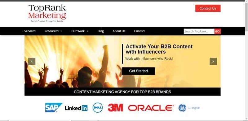 TopRank Online Marketing agence specialisee dans le marketing de contenu
