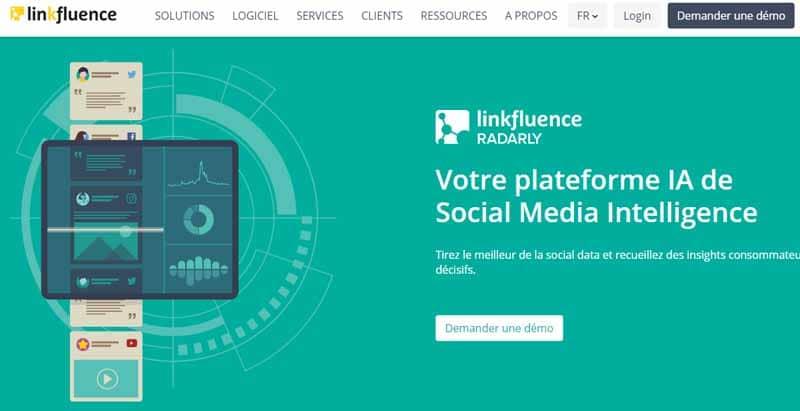 Linkfluence un outil pour scanner les reseaux sociaux et savoir ce qui se dit sur ses produits