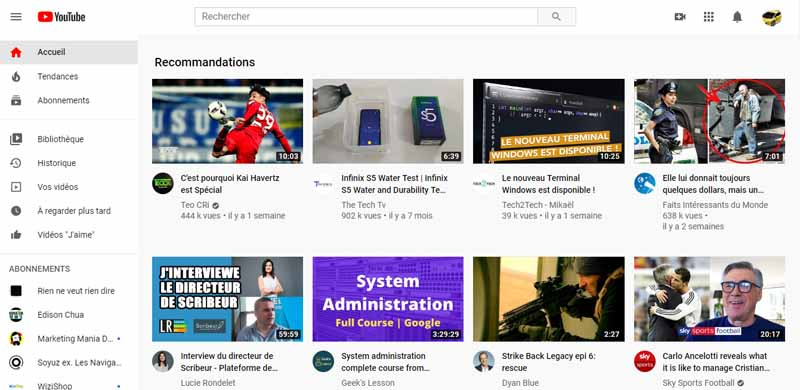 YouTube un reseau social et un site Web d hebergement de videos