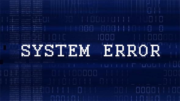Une erreur de systeme