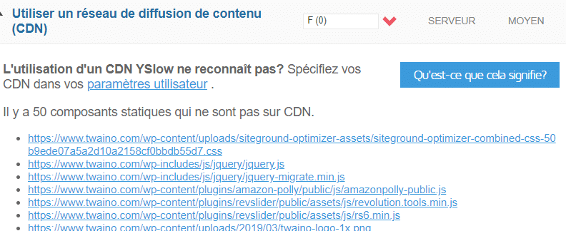 utiliser un reseau de diffusion de contenu CDN