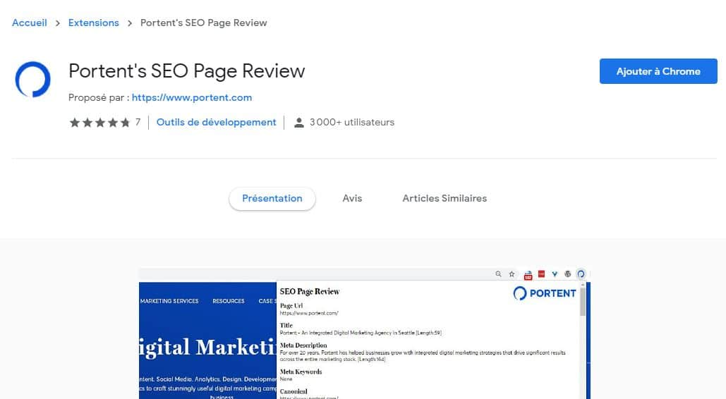 Portent s SEO Page Review