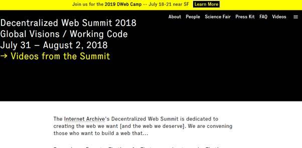 Le Web decentralise