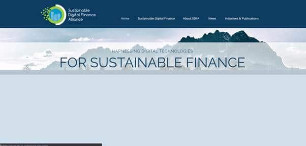 Le Sustainable Digital Finance Alliance