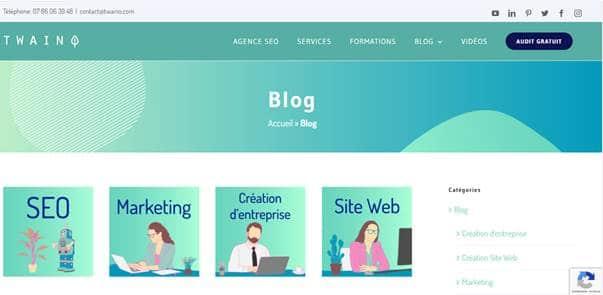 Les articles de blogs