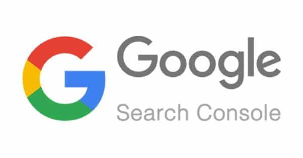 Console de recherche google