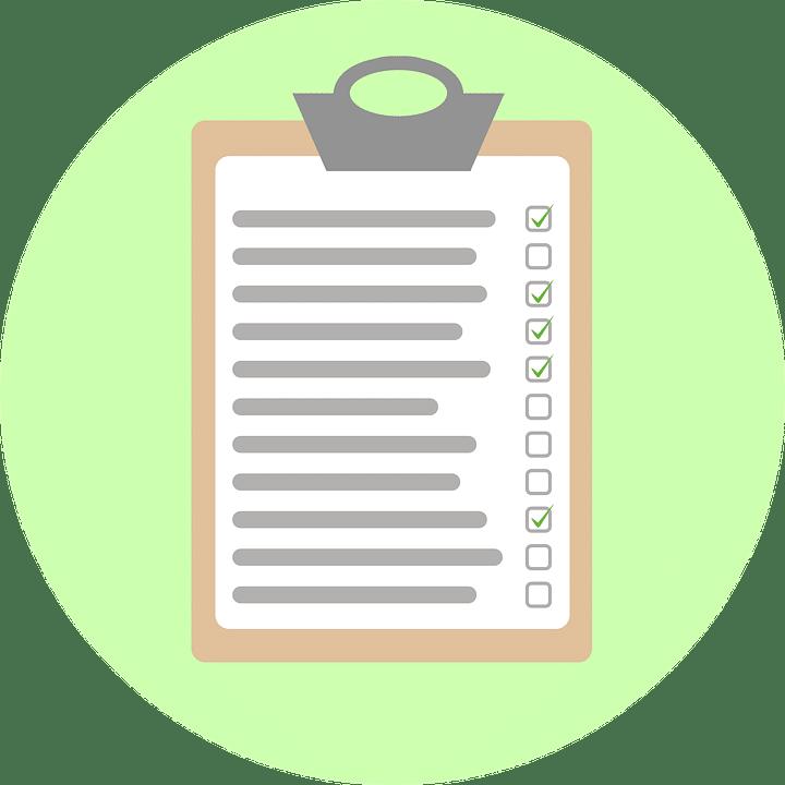 La liste pour assurer la coherence lors de l utilisation des ponctuations