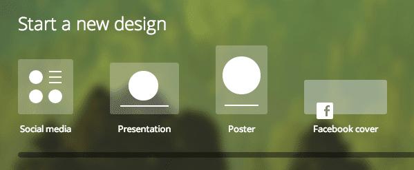 Commencer un nouveau design