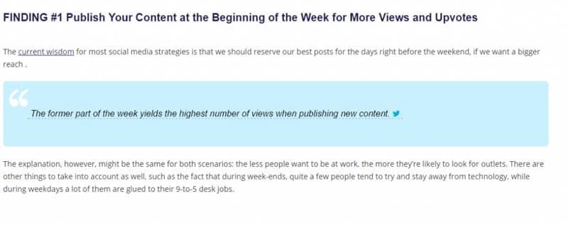 Des citations sous forme de micro contenu à promouvoir aupres de vos publics cibles