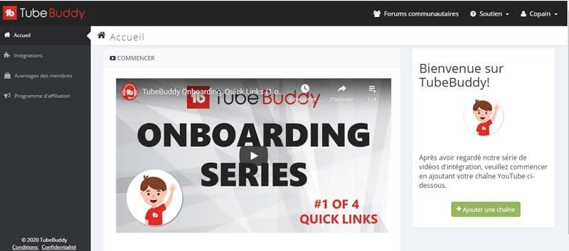 TubeBuddy 3