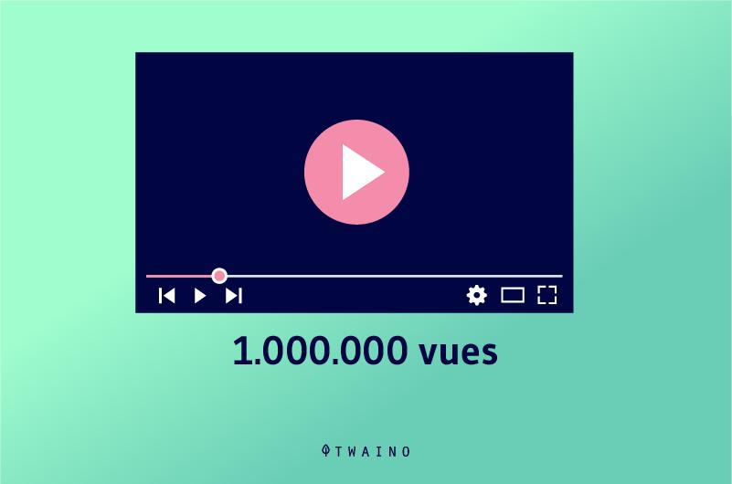 1 000 000 vue-sur-Youtube