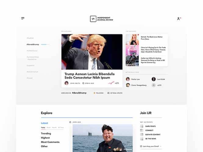 Site d actualites