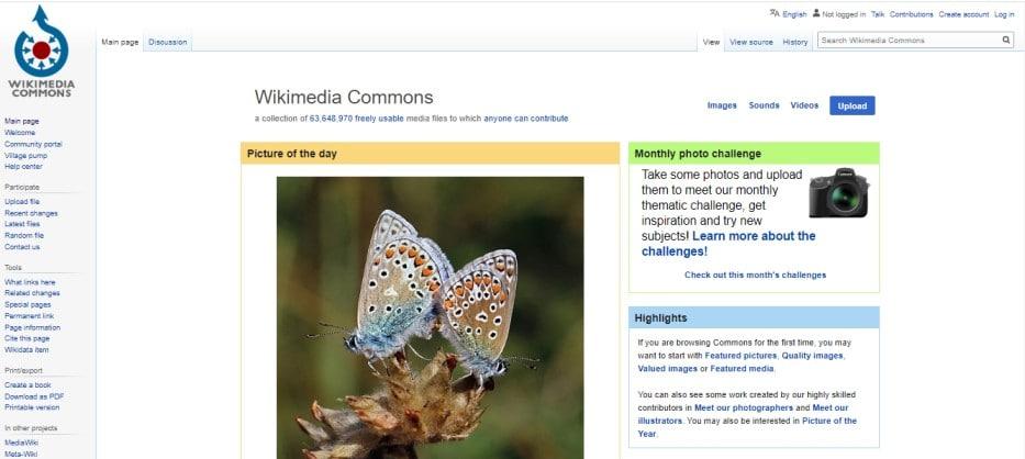 wikimedia cammons