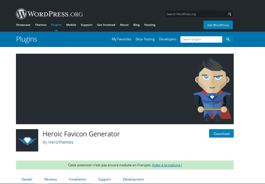 Heroic Favicon Generator