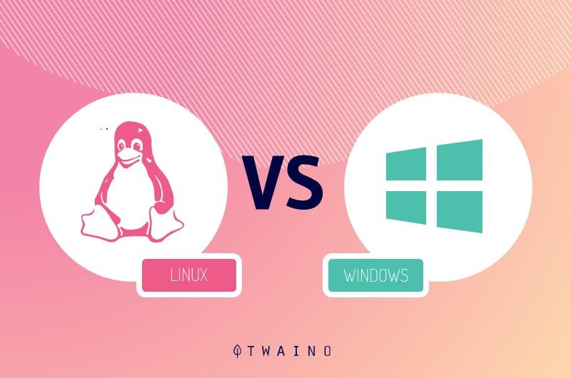 compraison Linux et Windows