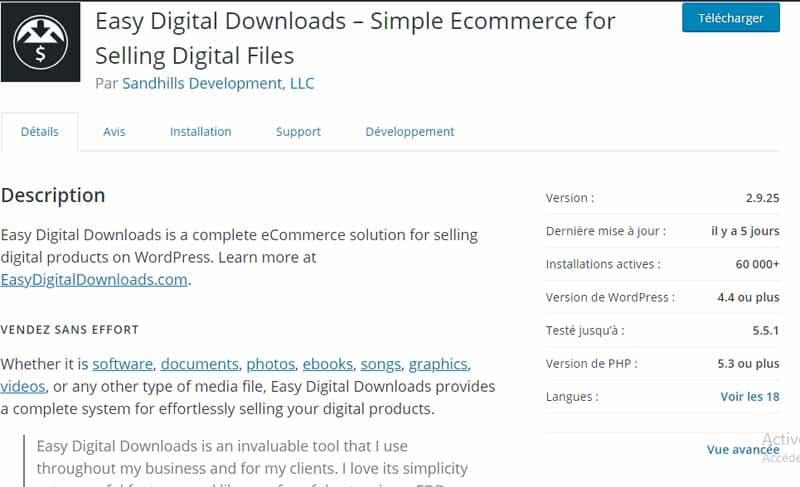 Easy Digital download