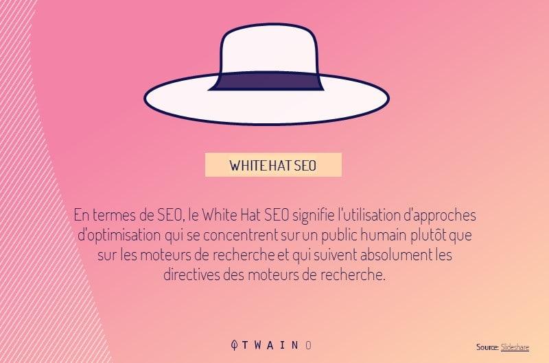 le chapeau blanc