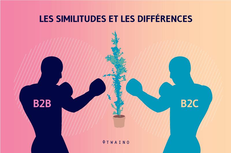 Comparaison B2C et B2B