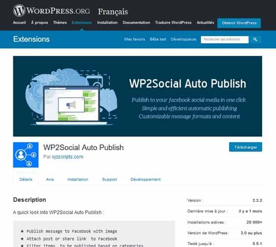 WP Facebook Auto Publish